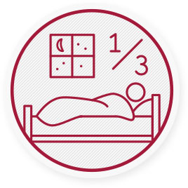 We spend 1/3 of our lives in bed with sleeping. According to surveys, almost 2/3 of the population is suffering from back pain.